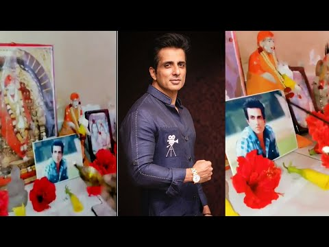 Sonu Sood's humble request to a man who places his photo among Gods is winning hearts