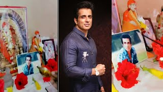 Sonu Sood's humble request to a man who places his photo a..