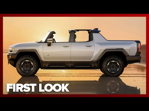 2022 GMC Hummer EV FIRST LOOK Everything you need to know