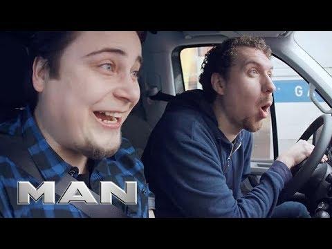 MAN TGE - Truck Horn Prank