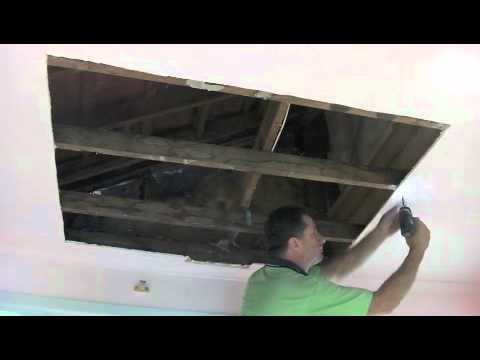 How To Repair Drywall Water Damage Photos