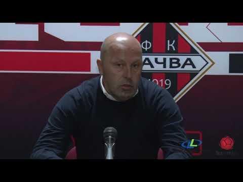 Linglong Tire Super liga 2019/20 - 9.Kolo: Izjave trenera nakon meča MAČVA – PROLETER