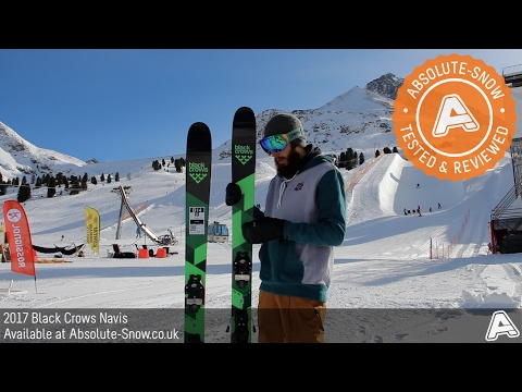 2016 / 2017 | Black Crows Navis Skis | Video Review