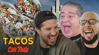 Joey Diaz Talks Getting Heckled While Eating Tacos with Brendan Schaub   Tacos Con Todo