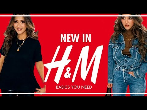 HUGE H&M Haul & Try-On ? Basics you NEED this Fall /AUTUMN 2019