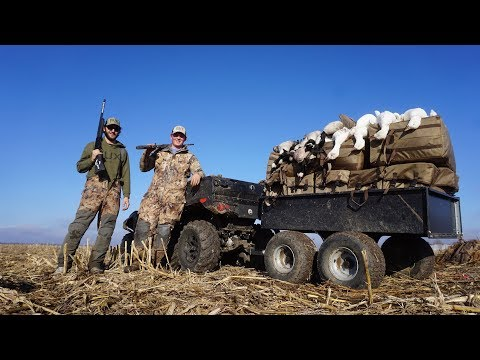 EPIC LITTLE 2 MAN BANGER GOOSE HUNT!!!
