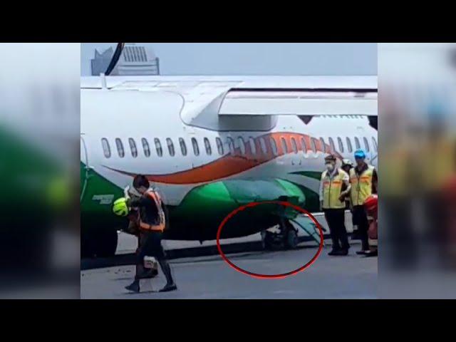 立榮飛馬祖班機降落前爆胎 返回松山機場平安落地