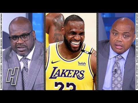 Inside the NBA Reacts to Lakers vs Suns Game 3 Highlights | 2021 NBA Playoffs