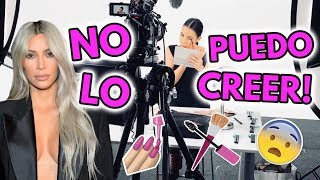 GRABANDO VIDEOS CON KIM KARDASHIAN WEST BEAUTY 😱💄 12 Abr 2018