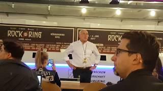 Veranstalter Marek Lieberberg zum Abbruch von Rock am Ring