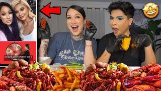 seafood boil mukbang + BIG NEWS!!!!!!! 🤩🥳🙊