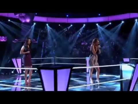 Adriana Louise - Jordan Pruitt Hot n Cold The Voice season 3 battle
