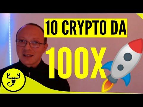 10 CRYPTO DA 100x MIGLIORI DI BITCOIN ! GUADAGNARE FORTE
