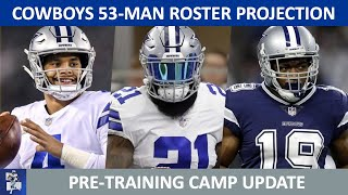 Dallas Cowboys 2020 Roster Projection: 53-Man & 55-Man Roster + Practice Squad | UPDATED