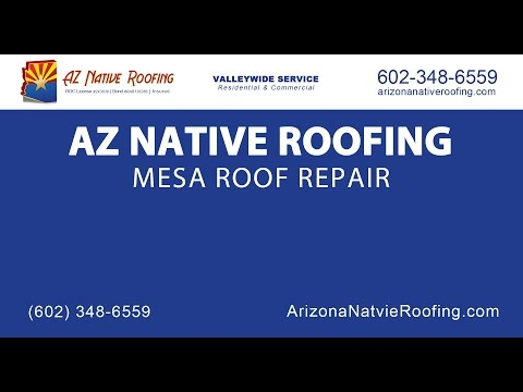 Mesa Roof Repair | AZ Native Roofing