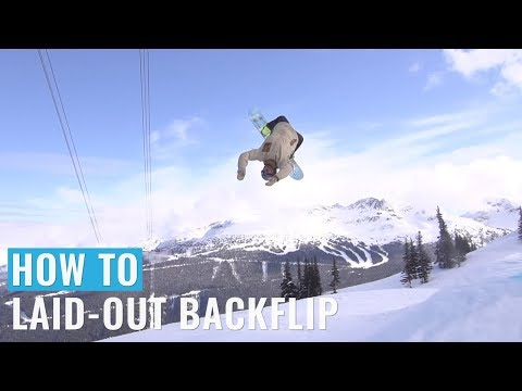 How To Laid-Out Backflip On A Snowboard