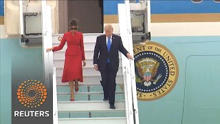 Trump visits France39s Macron, escaping domestic woes -