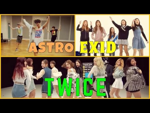 ◣Kpop idols singing and dancing to BTS (방탄소년단) songs compilation part 1◥