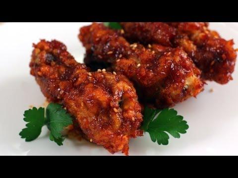 Korean fried chicken recipe (Yangnyeom-tongdak: 양념통닭)