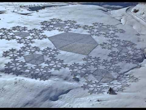 Arte sulla neve by Simon Beck