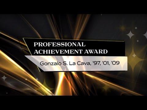 Gonzalo LaCava, '97, '01, '09 -  2015 UCF Professional Achievement Award Winner - CEDHP
