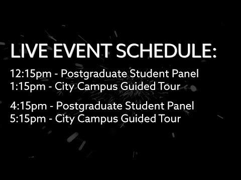Postgraduate Virtual Open Day - 6th September 2018