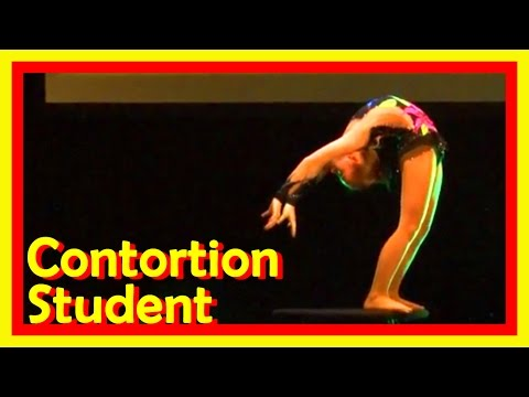 Circus Exam Of A Contortion Student