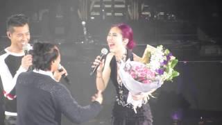 楊千嬅 演唱會 2015 - 梁漢文 陳奕迅合唱《楊千嬅+大激想》 YouTube 影片
