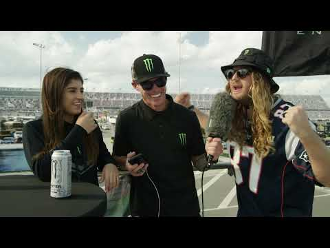 The Dingo Interviews Hailie Deegan at the Daytona 500