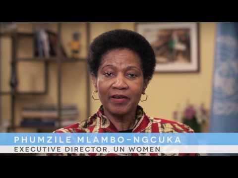 Grußbotschaft von Phumzile Mlambo-Ngcuka, Executive Director, UN Women