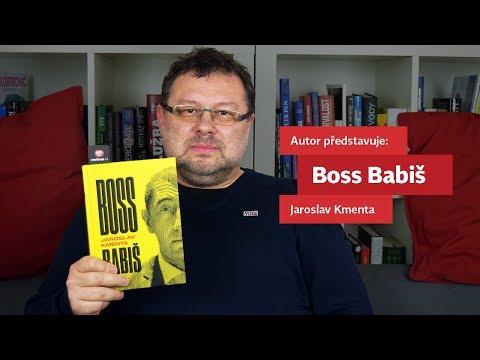 Jaroslav Kmenta představuje svou knihu Boss Babiš