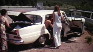 EUROPEAN TOUR 1971 - Family home movie - Part 1