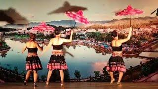 Múa thái. Múa mông. Nét văn hóa dân tộc tây bắc. HOA LAU TRẮNG.