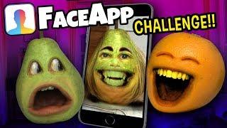 Annoying Orange - The FaceApp Challenge!