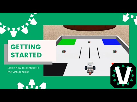 Virtual Robotics Toolkit: Connecting to the EV3 Virtual Brick