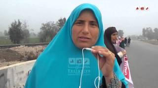 متظاهرو الشرقية في ذكرى فض رابعة يوجهون رسائل لأهالي الشهداء و النظام الحالي