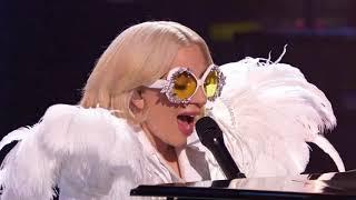 LADY Gaga Apresentação Your song Parte 3