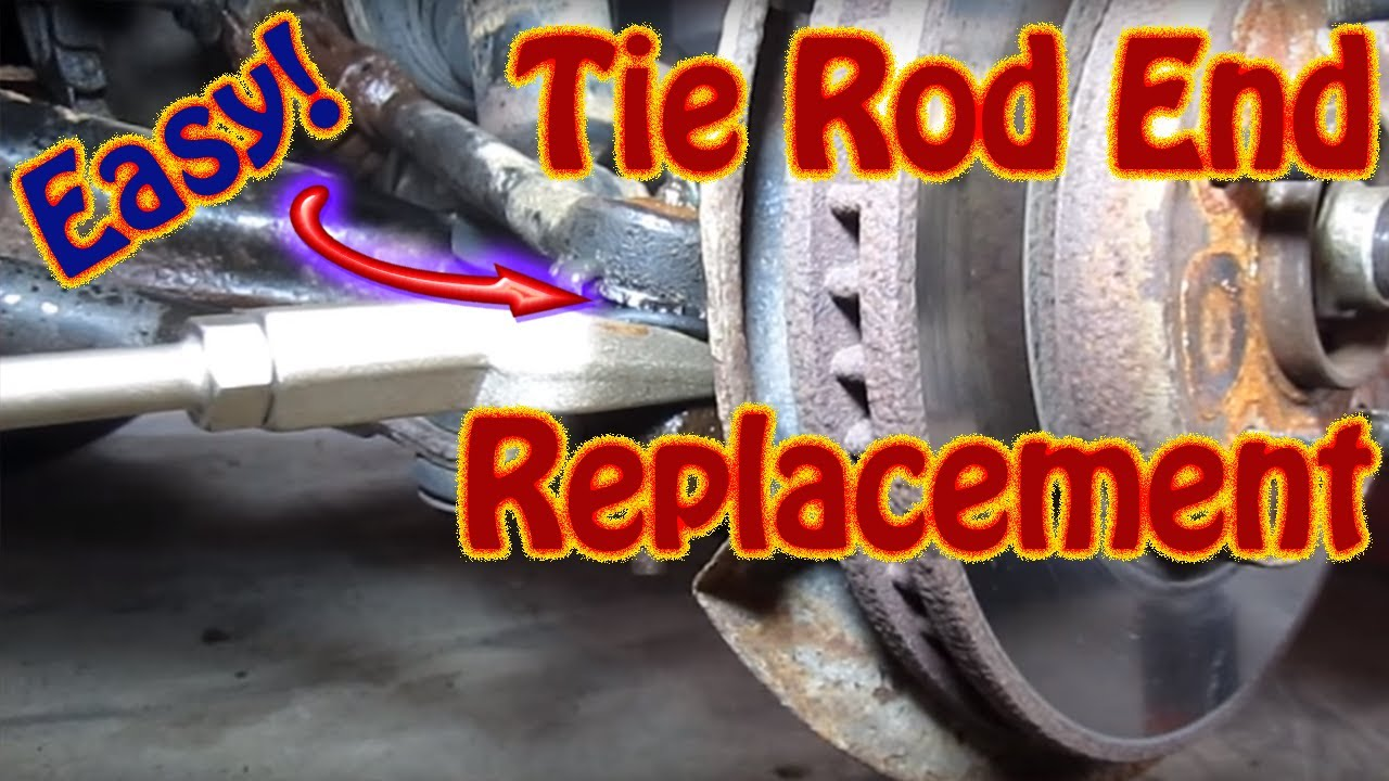 DIY How to Replace Inner Outer Tie Rod Ends On a Chevy ...