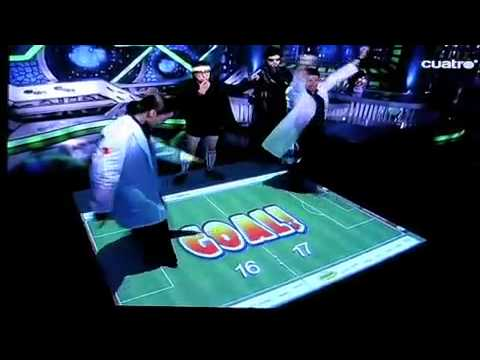 AdVis Interactive Soccer Effect on Spanish Game Show