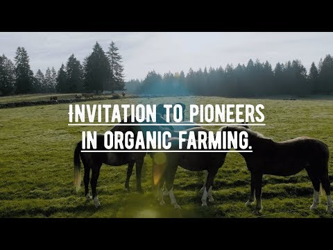 Invitation to pioneers in organic farming