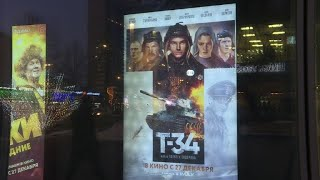 Patriotic tank film busts Russian box office record