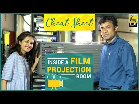 Inside A Film Projection Room | PVR Cinemas | Cheat Sheet