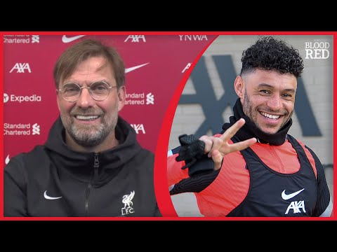 """NOT EASY"" | Jurgen Klopp on Alex Oxlade-Chamberlain's Liverpool Future"