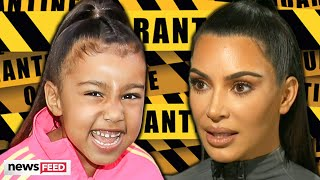 North West Savagely DRAGS Kim Kardashian For Wanting To Get Out!