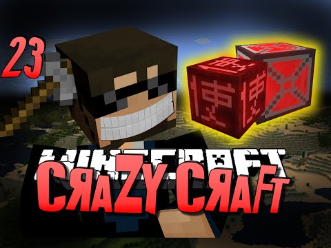 Minecraft CRAZY CRAFT 23 - BLOOD MAGIC ARMOR OP (Minecraft Mod Survival) - SSundee  - 0tr11zrSUPI -