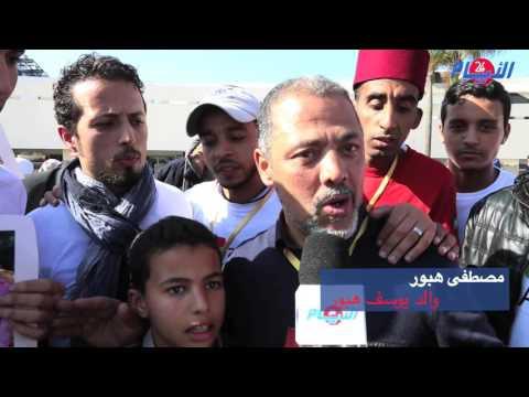 روبورتاج : الأيام24 ترصد لكم كواليس وصول و إستقبال الشاب المغربي الذي واجه البوليساريو بباريس