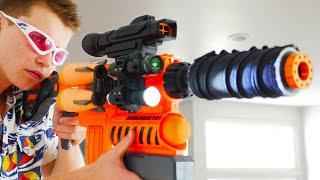 Nerf War: 3 Million Subscribers