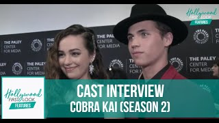 COBRA KAI (SEASON 2) | Interviews with the CAST with RICK HONG at PALEY FEST