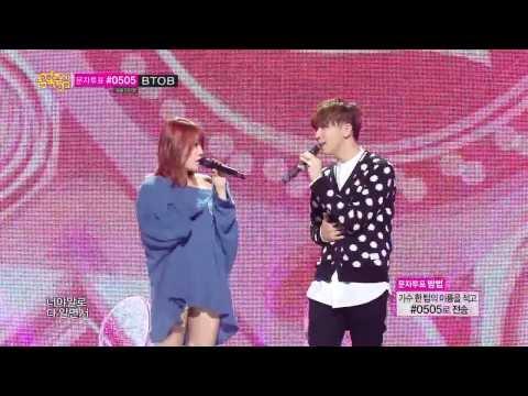 [HOT] SoYou X JunggiGo - Some, 소유 X 정기고 - 썸, Show Music core 20140301