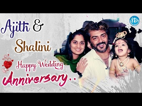 Ajith Kumar Shalini Marriage Photos With Celebs
